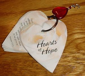 Hearts of Hope Keychain
